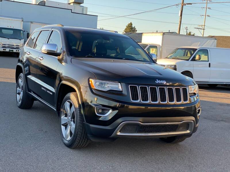 2014 Jeep Grand Cherokee for sale at Lux Motors in Tacoma WA