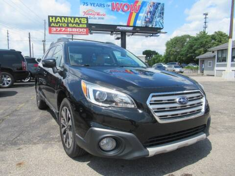 2015 Subaru Outback for sale at Hanna's Auto Sales in Indianapolis IN