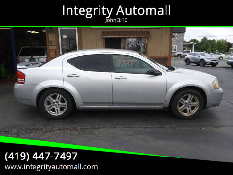 2009 Dodge Avenger for sale at Integrity Automall in Tiffin OH