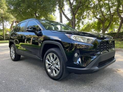 2021 Toyota RAV4 for sale at DELRAY AUTO MALL in Delray Beach FL