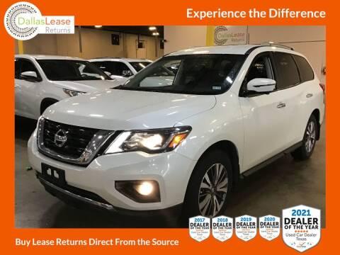 2018 Nissan Pathfinder for sale at Dallas Auto Finance in Dallas TX