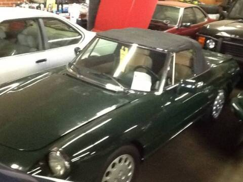 1992 Alfa Romeo Spider for sale at Roadtrip Carolinas in Seneca SC