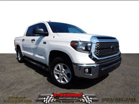 2018 Toyota Tundra for sale at PRIME MOTORS LLC in Arlington VA