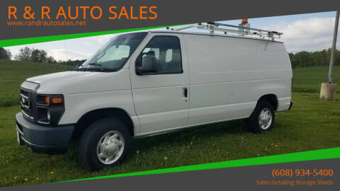 2012 Ford E-Series Cargo for sale at R & R AUTO SALES in Juda WI