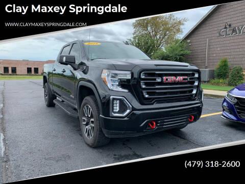 2019 GMC Sierra 1500 for sale at Clay Maxey Springdale in Springdale AR