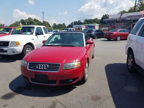 2004 Audi A4 for sale at Wheel'n & Deal'n in Lenoir NC
