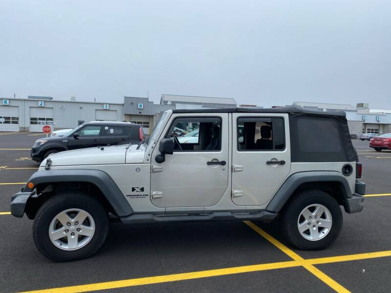 2007 Jeep Wrangler Unlimited for sale at Bluesky Auto in Bound Brook NJ