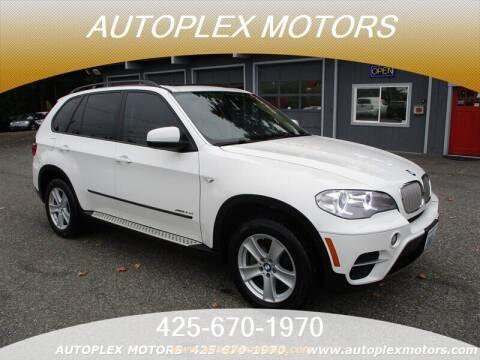 2012 BMW X5 for sale at Autoplex Motors in Lynnwood WA