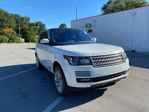 2017 Land Rover Range Rover for sale at LUXURY AUTO MALL in Tampa FL
