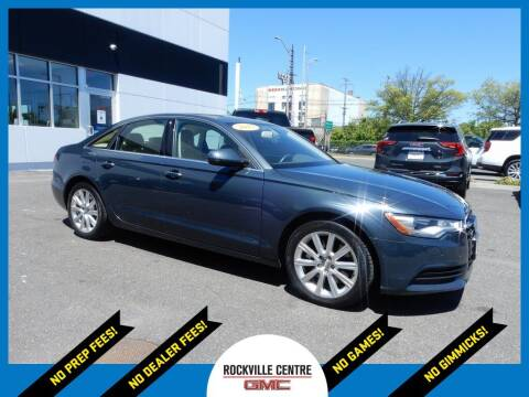 2015 Audi A6 for sale at Rockville Centre GMC in Rockville Centre NY