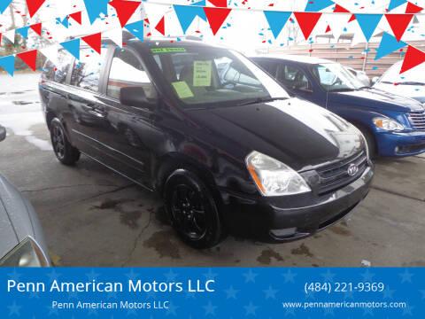 2006 Kia Sedona for sale at Penn American Motors LLC in Allentown PA