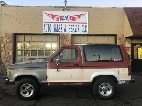 1986 Ford Bronco II for sale at LV Auto Sales & Repair, LLC in Yakima WA