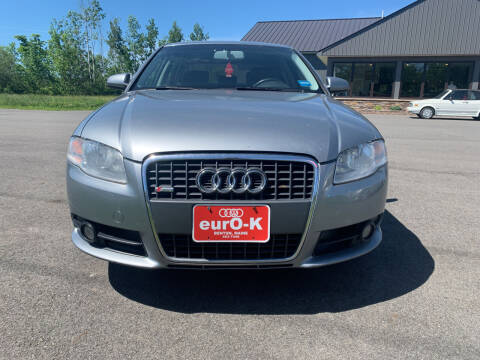 2008 Audi A4 for sale at eurO-K in Benton ME