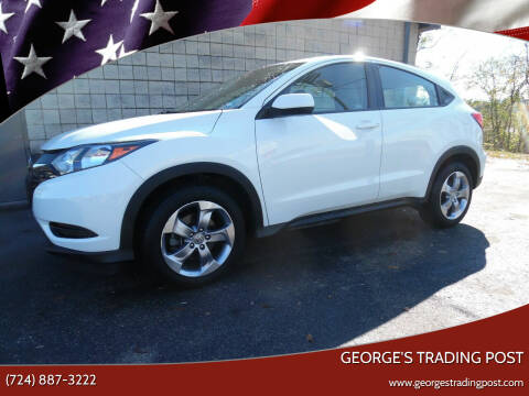 2018 Honda HR-V for sale at GEORGE'S TRADING POST in Scottdale PA