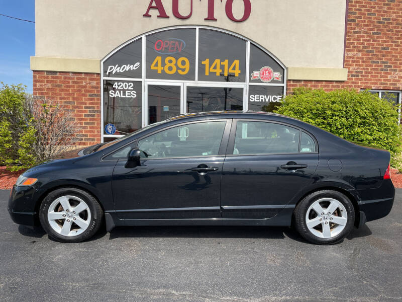 2007 Honda Civic for sale at Professional Auto Sales & Service in Fort Wayne IN