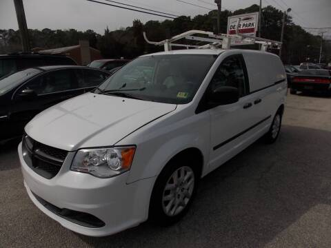2014 RAM C/V for sale at Deer Park Auto Sales Corp in Newport News VA