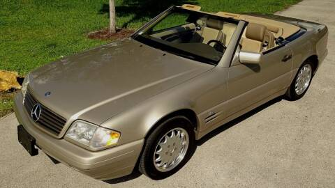 1997 Mercedes-Benz SL-Class for sale at Premier Luxury Cars in Oakland Park FL