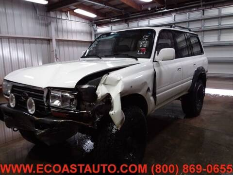 1995 Toyota Land Cruiser for sale at East Coast Auto Source Inc. in Bedford VA
