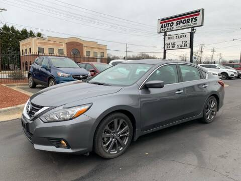 2018 Nissan Altima for sale at Auto Sports in Hickory NC