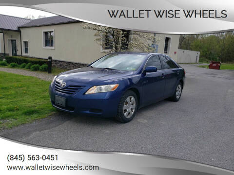 2007 Toyota Camry for sale at Wallet Wise Wheels in Montgomery NY