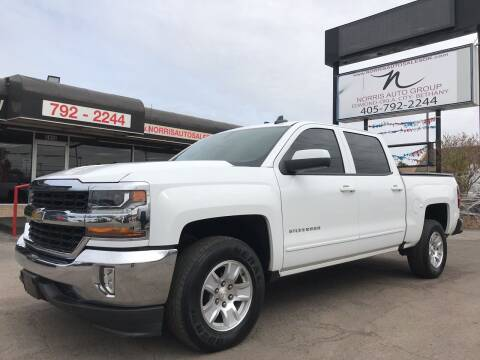 2018 Chevrolet Silverado 1500 for sale at NORRIS AUTO SALES in Oklahoma City OK