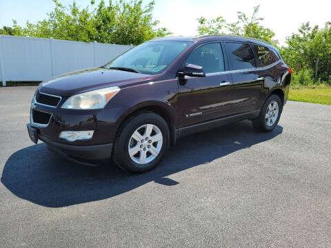 2009 Chevrolet Traverse for sale at Caps Cars Of Taylorville in Taylorville IL