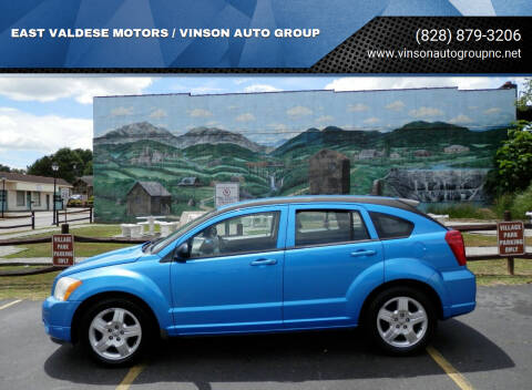 2009 Dodge Caliber for sale at EAST VALDESE MOTORS / VINSON AUTO GROUP in Valdese NC