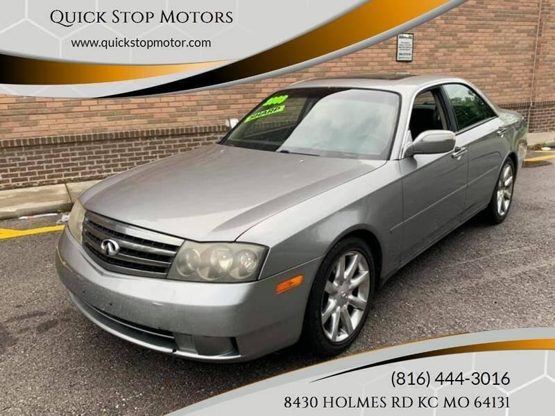 2003 Infiniti M45 for sale at Quick Stop Motors in Kansas City MO