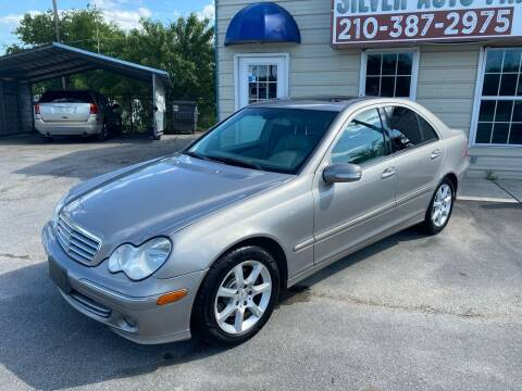 2007 Mercedes-Benz C-Class for sale at Silver Auto Partners in San Antonio TX