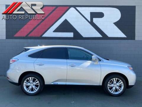 2010 Lexus RX 450h for sale at Auto Republic Fullerton in Fullerton CA