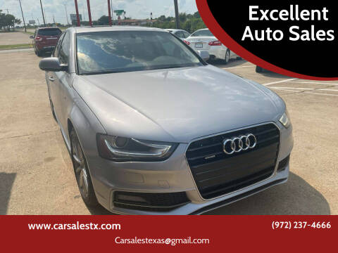 2016 Audi A4 for sale at Excellent Auto Sales in Grand Prairie TX