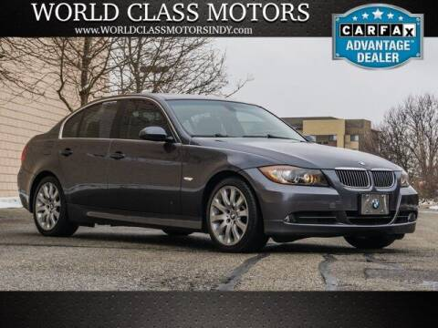 2006 BMW 3 Series for sale at World Class Motors LLC in Noblesville IN