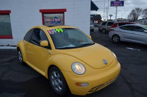 2000 Volkswagen New Beetle for sale at CARGILL U DRIVE USED CARS in Twin Falls ID