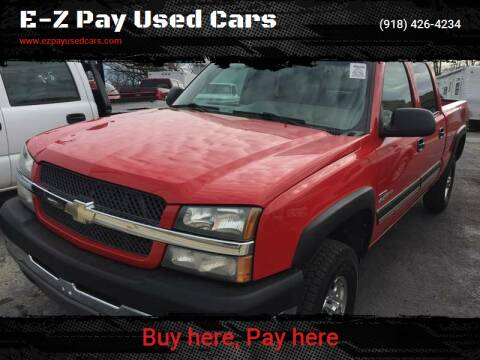 2003 Chevrolet Silverado 2500HD for sale at E-Z Pay Used Cars - E-Z Pay Cars & Bikes in McAlester OK