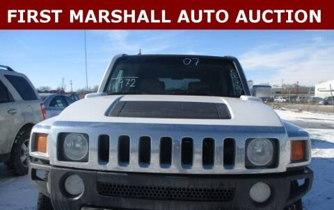2007 HUMMER H3 for sale at First Marshall Auto Auction in Harvey IL