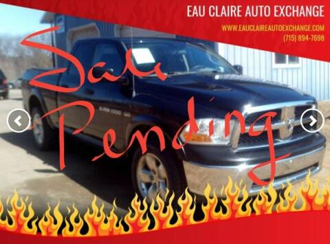 2012 RAM Ram Pickup 1500 for sale at Eau Claire Auto Exchange in Elk Mound WI