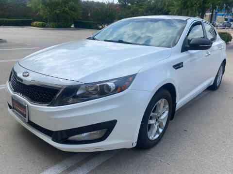 2013 Kia Optima for sale at Ted's Auto Corporation in Richardson TX