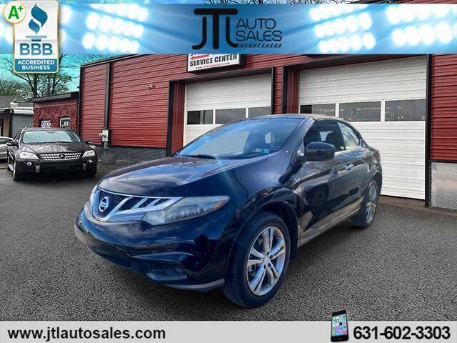 2011 Nissan Murano CrossCabriolet for sale at JTL Auto Inc in Selden NY