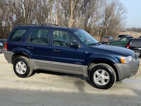 2002 Ford Escape for sale at Kansas Car Finder in Valley Falls KS