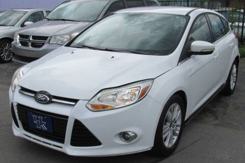 2012 Ford Focus for sale at Express Auto Sales in Lexington KY