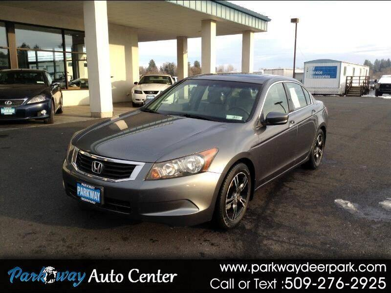 2008 Honda Accord for sale at PARKWAY AUTO CENTER AND RV in Deer Park WA