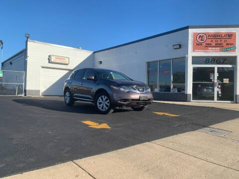 2013 Nissan Murano for sale at HIGHLINE AUTO LLC in Kenosha WI