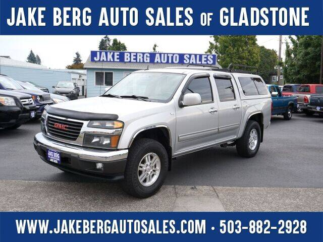 2010 GMC Canyon for sale at Jake Berg Auto Sales in Gladstone OR
