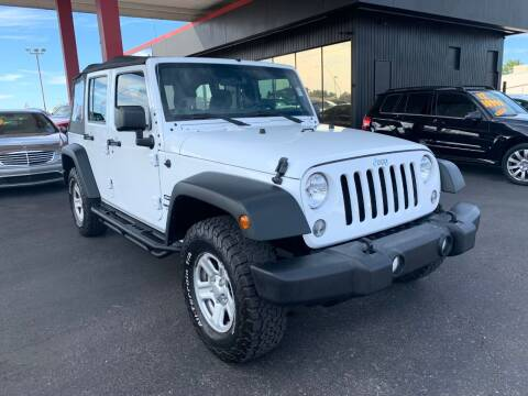 2016 Jeep Wrangler Unlimited for sale at JQ Motorsports East in Tucson AZ