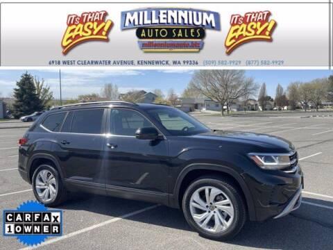 2021 Volkswagen Atlas for sale at Millennium Auto Sales in Kennewick WA