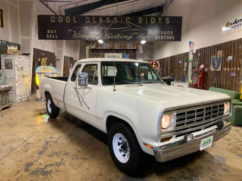 1973 Dodge D250 Pickup for sale at Cool Classic Rides in Redmond OR