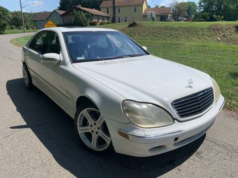 2002 Mercedes-Benz S-Class for sale at Trocci's Auto Sales in West Pittsburg PA