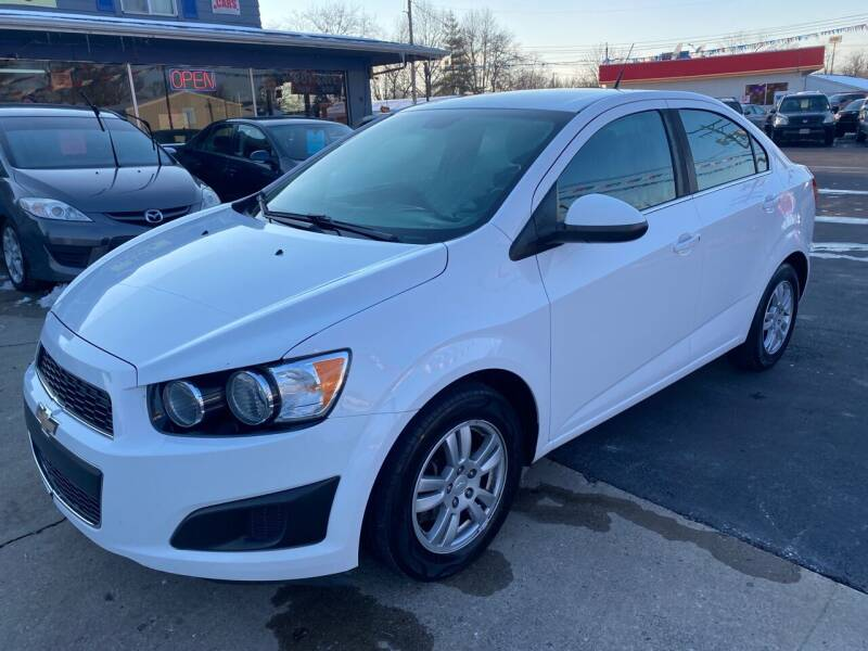 2013 Chevrolet Sonic for sale at Wise Investments Auto Sales in Sellersburg IN