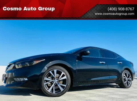 2016 Nissan Maxima for sale at Cosmo Auto Group in San Jose CA