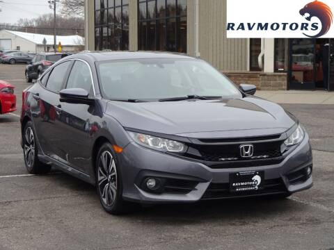 2016 Honda Civic for sale at RAVMOTORS 2 in Crystal MN